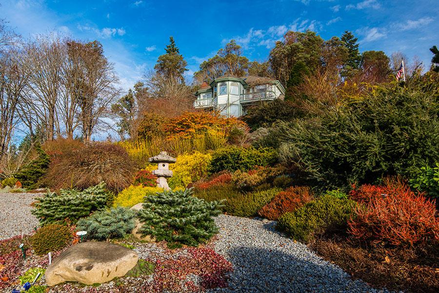 Botanical garden in Kitsap county